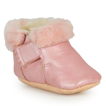 Boty Dívčí Papuče Easy Peasy FOUMOU Růžová