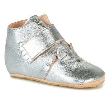Boty Děti Papuče Easy Peasy KINY CHAT Stříbrná