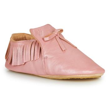 Boty Děti Papuče Easy Peasy MEXIBLU Růžová