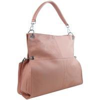 Taška Ženy Tašky přes rameno Bella Belly Velká libovolně nositelná dámská kabelka 5381-BB růžová růžová
