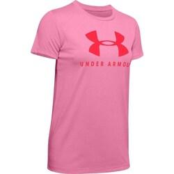 Textil Ženy Trička s krátkým rukávem Under Armour Graphic Sportstyle Classic Crew Růžové