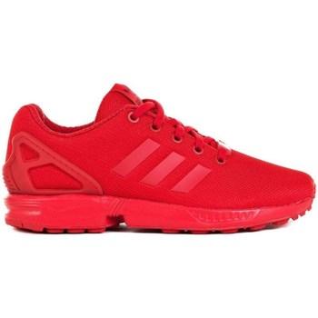 Boty Děti Nízké tenisky adidas Originals ZX Flux J Červené