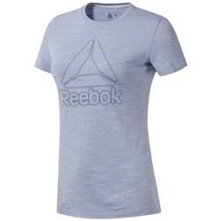 Textil Ženy Trička s krátkým rukávem Reebok Sport TE Marble Logo Tee Šedé