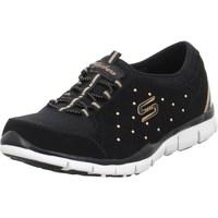 Boty Ženy Nízké tenisky Skechers Sneaker Slipon Highclass Černé