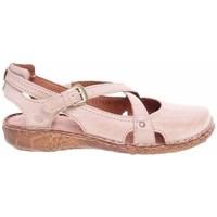 Boty Ženy Sandály Josef Seibel Ballerinas Růžové
