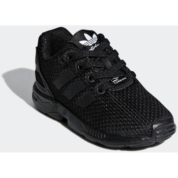 Boty Děti Nízké tenisky adidas Originals ZX Flux EL I Černé
