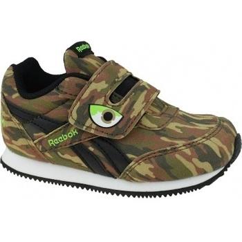Boty Děti Multifunkční sportovní obuv Reebok Sport Royal Classic Jogger 2.0 K hnědá