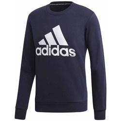 Textil Muži Mikiny adidas Originals MH Bos Crew FT Tmavomodré
