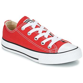 Boty Děti Nízké tenisky Converse CHUCK TAYLOR ALL STAR CORE OX Červená