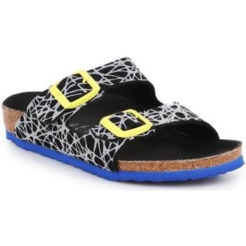 Boty Děti Šněrovací polobotky  & Šněrovací společenská obuv Birkenstock Arizona Kids Černé
