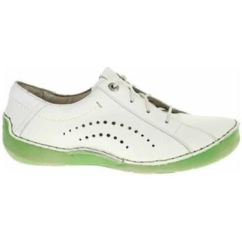 Boty Ženy Šněrovací polobotky  & Šněrovací společenská obuv Josef Seibel 59673687011 Bílé