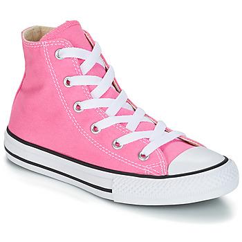 Boty Dívčí Kotníkové tenisky Converse CHUCK TAYLOR ALL STAR CORE HI Růžová