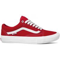 Boty Muži Skejťácké boty Vans Old skool pro Červená