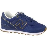 Boty Ženy Šněrovací polobotky  & Šněrovací společenská obuv New Balance 574 Modré