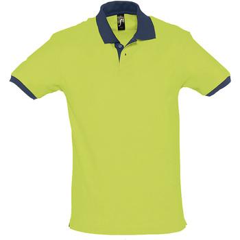Textil Polo s krátkými rukávy Sols PRINCE COLORS Verde