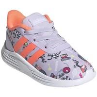 Boty Děti Nízké tenisky adidas Originals Lite Racer 20 I Šedé,Oranžové