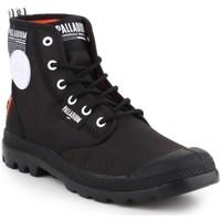 Boty Muži Kotníkové boty Palladium Pampa Lite Overlab Černé