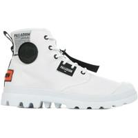 Boty Muži Kotníkové boty Palladium Manufacture Pampa Lite Overlab Bílá