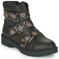 Boty Ženy Kotníkové boty Guess WENDY Černá