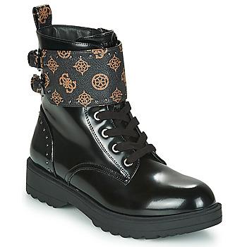 Boty Ženy Kotníkové boty Guess WANDA Černá