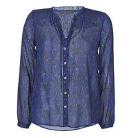 Textil Ženy Košile / Halenky Ikks BR13035 Tmavě modrá