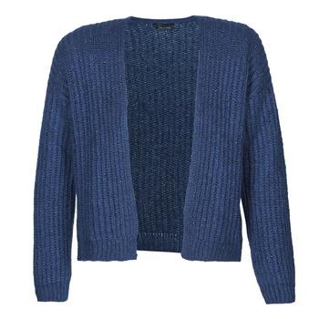 Textil Ženy Svetry / Svetry se zapínáním Ikks BR17015 Tmavě modrá
