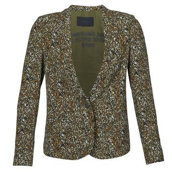 Textil Ženy Saka / Blejzry Ikks BR40005 Khaki