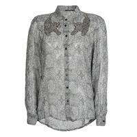 Textil Ženy Košile / Halenky Ikks BR12055 Černá