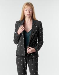 Textil Ženy Saka / Blejzry Ikks BR40115 Černá