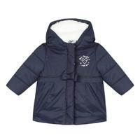 Textil Dívčí Prošívané bundy 3 Pommes 3R42012-49 Tmavě modrá