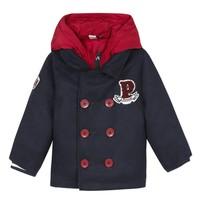 Textil Chlapecké Kabáty 3 Pommes 3R41023-04 Tmavě modrá