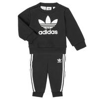 Textil Děti Set adidas Originals CREW SET Černá