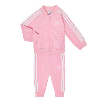 Textil Dívčí Set adidas Originals SST TRACKSUIT Růžová