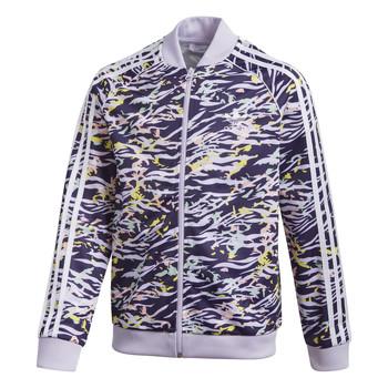Textil Dívčí Teplákové bundy adidas Originals SST TOP Fialová