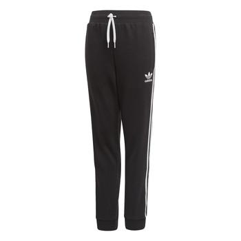 Textil Děti Teplákové kalhoty adidas Originals TREFOIL PANTS Černá