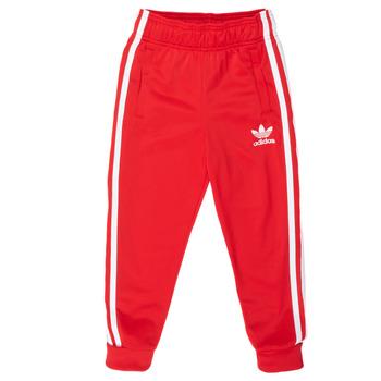 Textil Děti Teplákové kalhoty adidas Originals SST TRACKPANT Červená