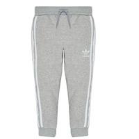 Textil Chlapecké Teplákové kalhoty adidas Originals TREFOIL PANTS Šedá