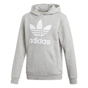 Textil Děti Mikiny adidas Originals TREFOIL HOODIE Šedá