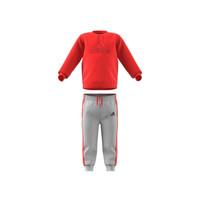 Textil Děti Set adidas Performance MH LOG JOG FL Červená / Šedá