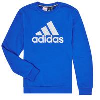 Textil Chlapecké Mikiny adidas Performance JB MH CREW Modrá