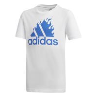 Textil Chlapecké Trička s krátkým rukávem adidas Performance JB BOS GRAPH Bílá