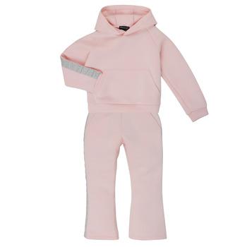 Textil Dívčí Teplákové soupravy Emporio Armani 6H3V01-1JDSZ-0356 Růžová