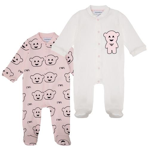Textil Dívčí Pyžamo / Noční košile Emporio Armani 6HHV06-4J3IZ-F308 Růžová