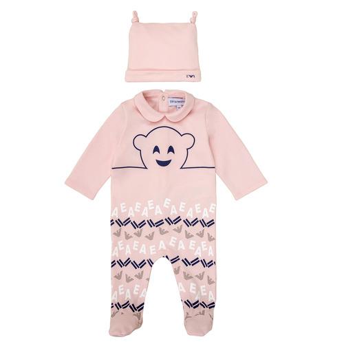 Textil Dívčí Pyžamo / Noční košile Emporio Armani 6HHV08-4J3IZ-0355 Růžová
