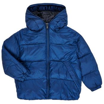 Textil Chlapecké Prošívané bundy Emporio Armani 6H4BF9-1NLYZ-0975 Tmavě modrá