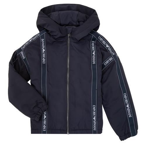 Textil Chlapecké Bundy Emporio Armani 6H4BL0-1NYFZ-0920 Tmavě modrá