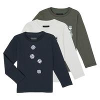 Textil Chlapecké Trička s dlouhými rukávy Emporio Armani 6H4D01-4J09Z-0564
