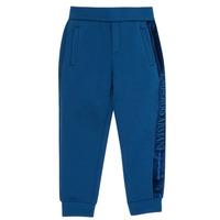 Textil Chlapecké Teplákové kalhoty Emporio Armani 6H4P84-1JDSZ-0975 Tmavě modrá