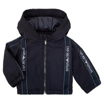 Textil Chlapecké Bundy Emporio Armani 6HHBL0-1NYFZ-0920 Tmavě modrá