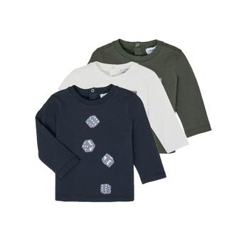 Textil Chlapecké Trička s dlouhými rukávy Emporio Armani 6HHD21-4J09Z-0564